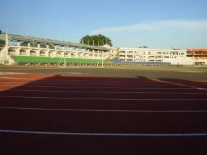 Lingayen Track Oval, Pangasinan Province.
