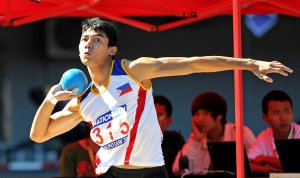 Cid needs to improve on his throws to realize his full potential in the decathlon