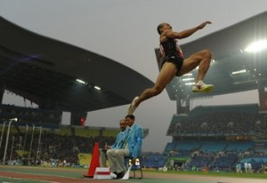 Henry Dagmil during the 2010 Asian Games