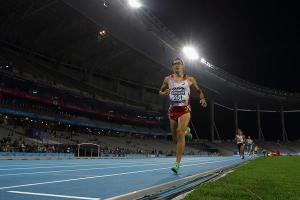 Keisuke Ushiro won the Asian Games Decathlon title in a dramatic fashion by winning the last event in