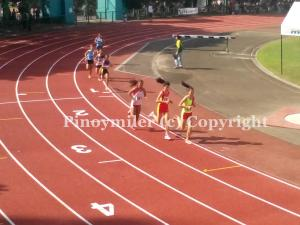 Vietnam girls went 1-2 in the 1500m courtesy of Dinh Thi Bich (173) and Lo Thi Thanh (171)