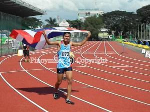 Vitsanu Phosri of Thailand won the boys 400m in 47.96s
