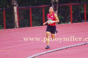 Jenyrose during the 800m finals