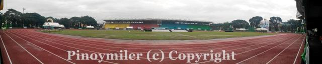 Panoramic view of the Marikina Sports Stadium where the 6th ASEAN Schools Games took place